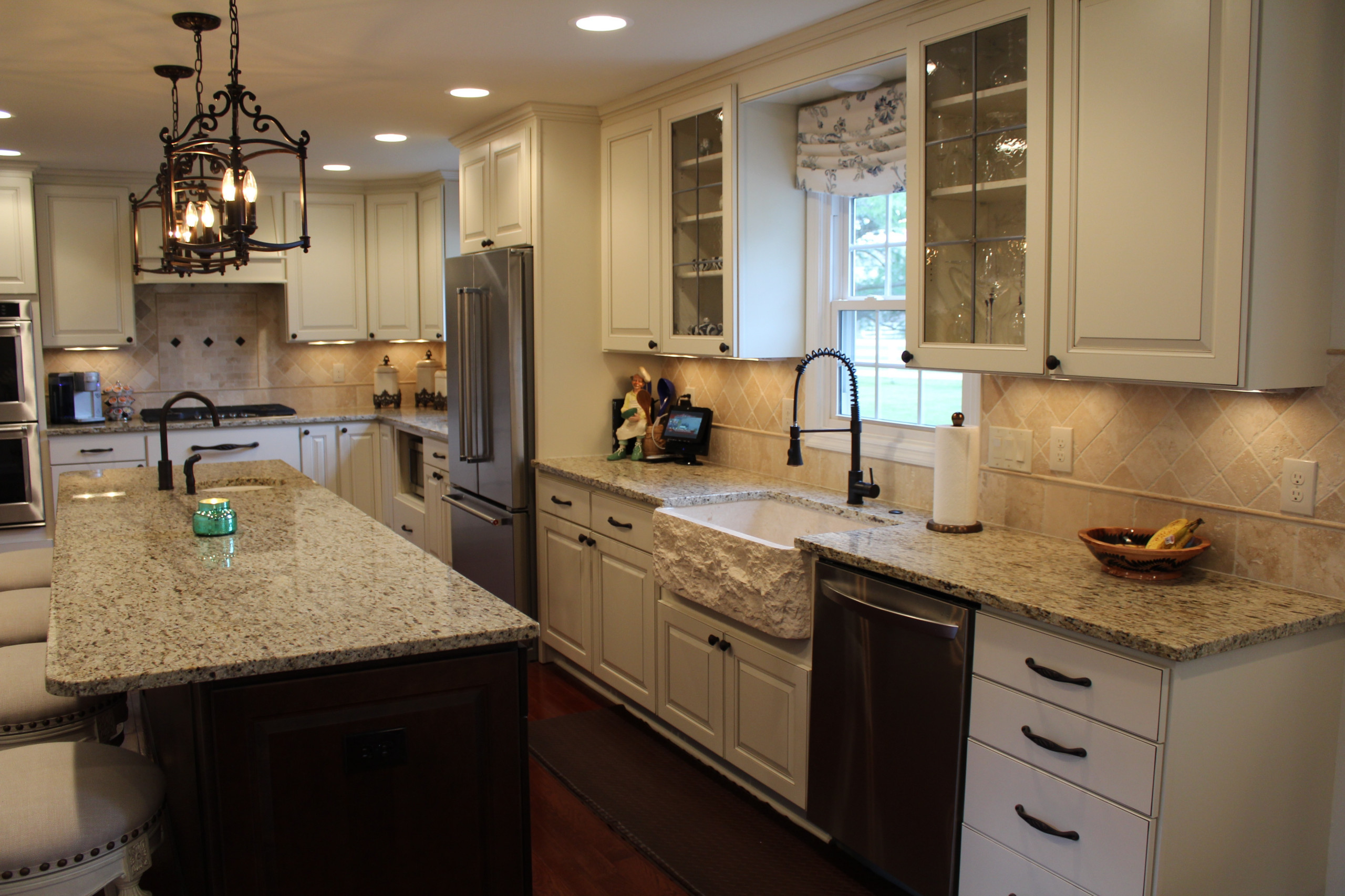 Westerville kitchen full remodel wall removal