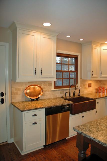 Westfield Blvd. & 91st Kitchen traditional-kitchen