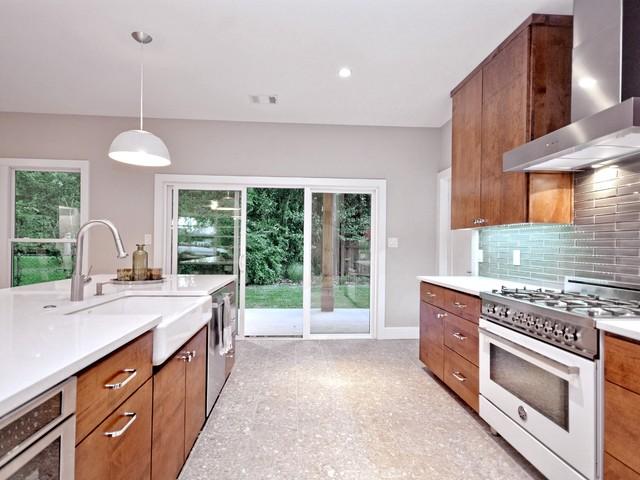Westfield modern kitchen austin by danze davis for Danze e davis architects