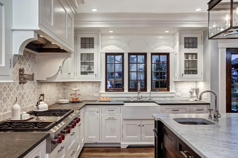Westfield Nj Tudor Revival Traditional Kitchen New York By Freeman Hall Design