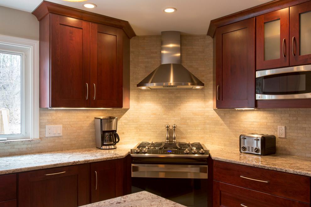 Westford Kitchen - Transitional - Kitchen - Boston - by ...