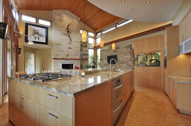 Westlake Residence Kitchen contemporary-kitchen