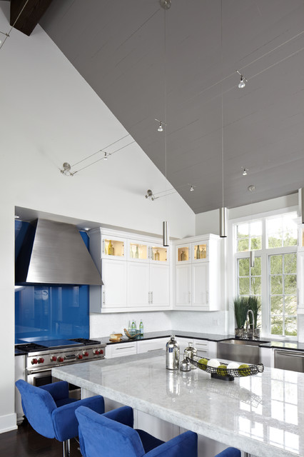 Westlake Residence contemporary-kitchen