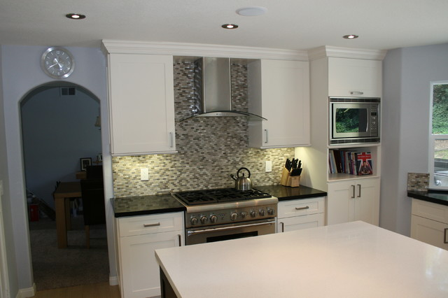 Westlake Village Addition & Whole House Remodel contemporary-kitchen