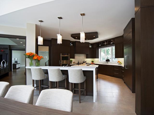 Westmount Park contemporary-kitchen