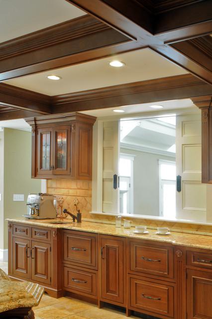 Weston Cherry Inset traditional-kitchen