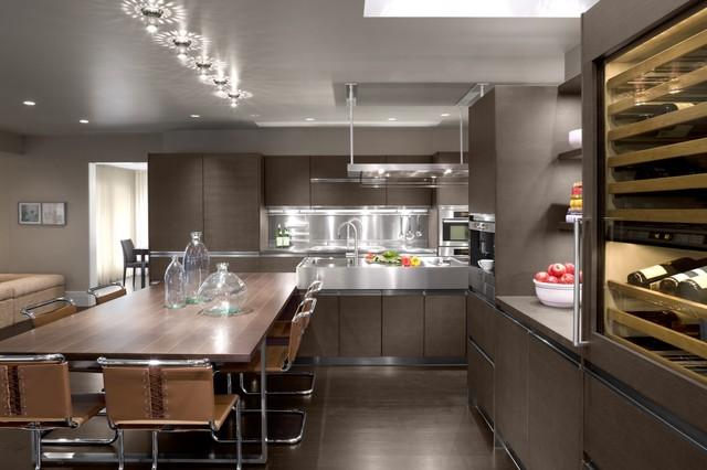 Weston House Modern Kitchen Boston By Ruhl Walker