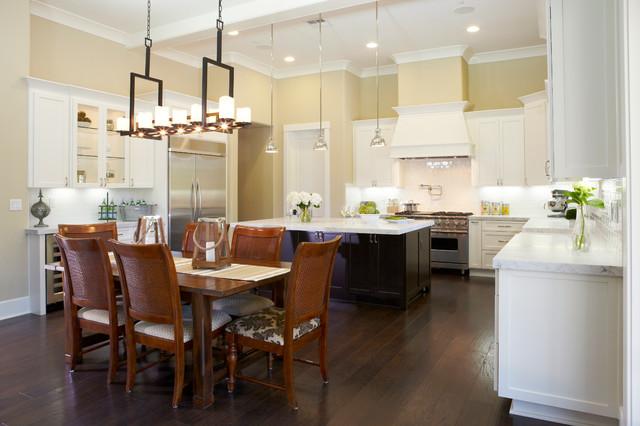 Westside 4200 Sq Ft Custom Home Traditional Kitchen