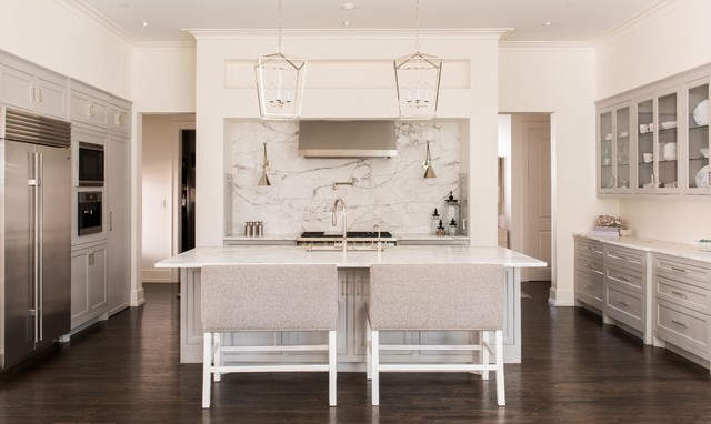 Westway, Highland Park Residence transitional-kitchen