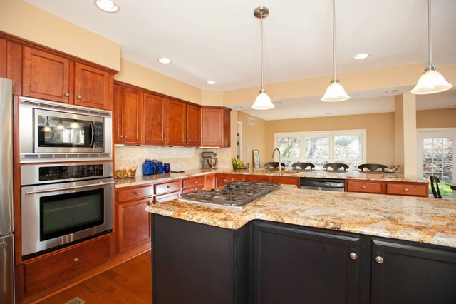 Wexford Addition traditional-kitchen