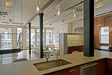wg loft modern kitchen