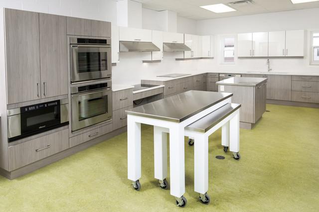 Wheelchair Accessible Kitchen Design Contemporary Kitchen Other Metro