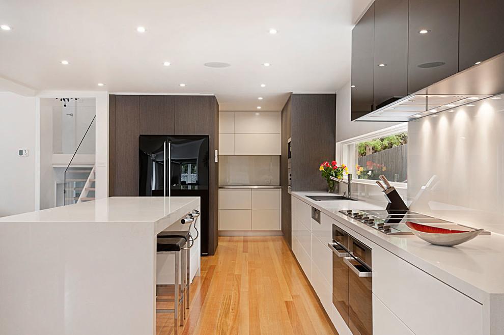 wheelers hill  modern  kitchen  melbourne orana