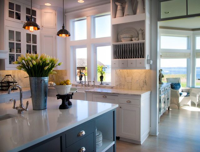 Whidbey Island Beach House - Kitchen Remodel - Beach Style ...