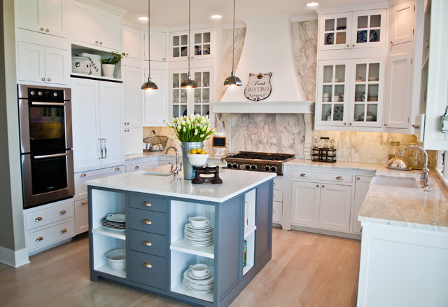 Whidbey island beach house kitchen remodel beach style for Small beach house kitchen designs