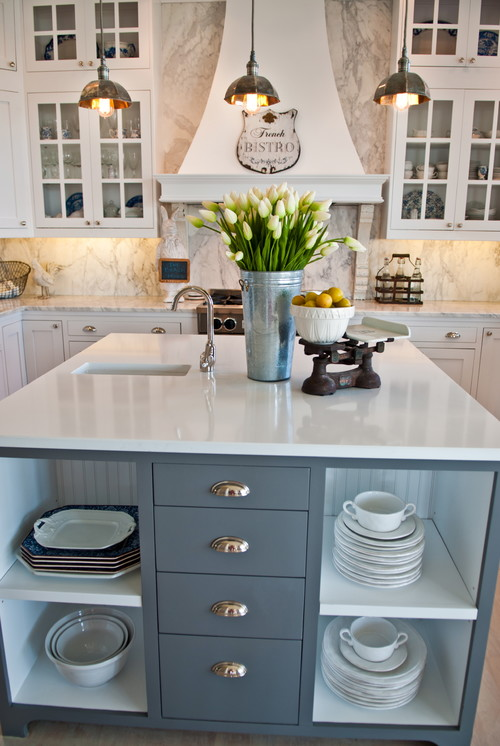 Houzz Countertop Materials : Whidbey Island Beach House - Kitchen Remodel ? More Info
