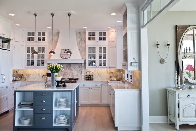 Kitchen Remodel With Island Style Whidbey Island Beach House  Kitchen Remodel  Beach Style .