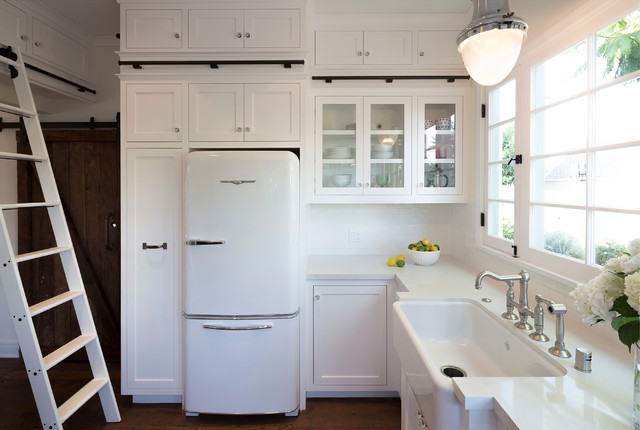 Whimsical And Vintage Inspired Farmhouse Kitchen Remodel