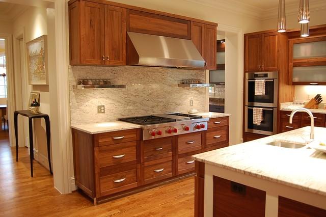 Whimsical Walnut modern-kitchen