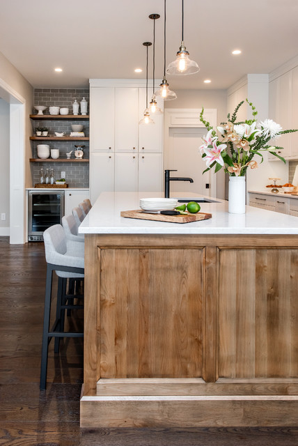 Whimsical Wood - Transitional - Kitchen - Calgary - by Redl ...