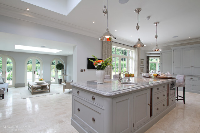 Whincop Cheam Sutton Uk Traditional Kitchen Berkshire By Alexander James Interiors