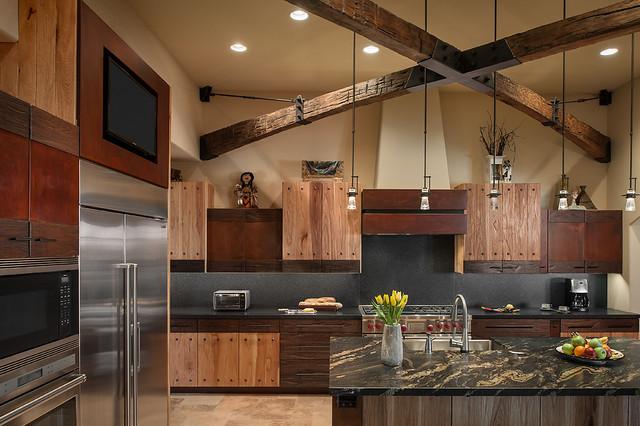 Whisper Rock Residence southwestern-kitchen