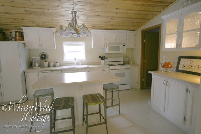 WhisperWood Cottage Kitchen eclectic-kitchen
