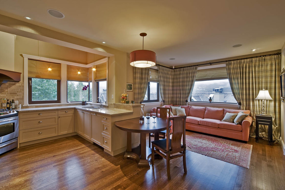 Whistler - Traditional - Kitchen - Vancouver - by Debbie ...