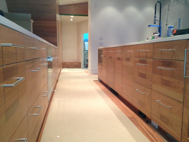 Whistler Contemporary Kitchen Vancouver By Lauten Woodworking