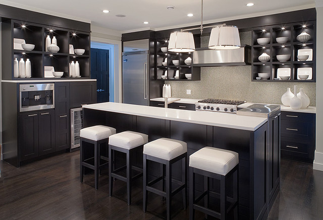 Whistler Zen - Contemporary - Kitchen - Vancouver - by Christine ...