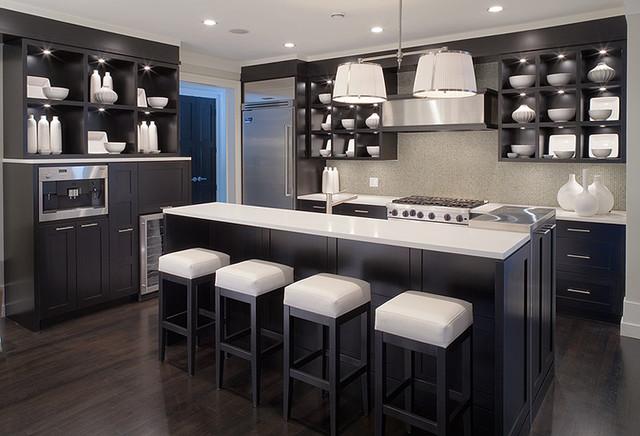 Whistler zen contemporary kitchen vancouver by for Modern zen kitchen