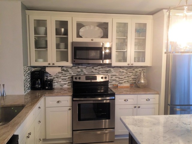 White and Black Kitchen - Modern - Kitchen - other metro - by RTA Cabinet Store