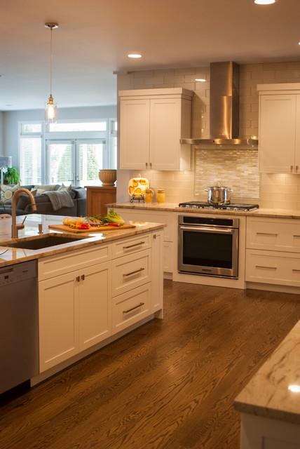 White Gold Gathering Kitchen Contemporary Kitchen Philadelphia By Cranbury Design