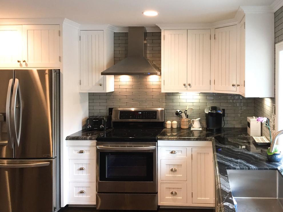 White and gray kitchen. Camarillo, Ca 6 - Traditional ...