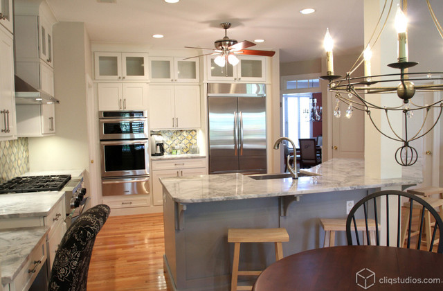 Cliqstudios Kitchen Cabinet Installation Guide Chapter: White And Harbor Kitchen In South Carolina