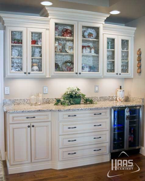 White and Honey | Haas Cabinet