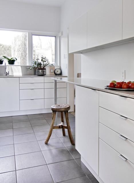 Modern Kitchen Ottawa, Modern Handles For White Kitchen Cabinets