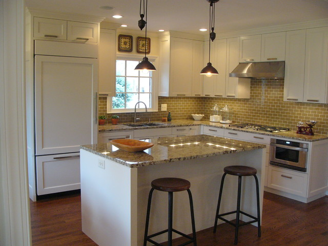 White simple kitchen modern kitchen charlotte by for Kitchen ideas 12 x 12