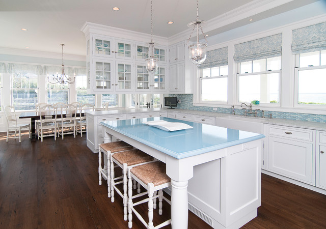 White U0026 Wonderful Traditional Kitchen