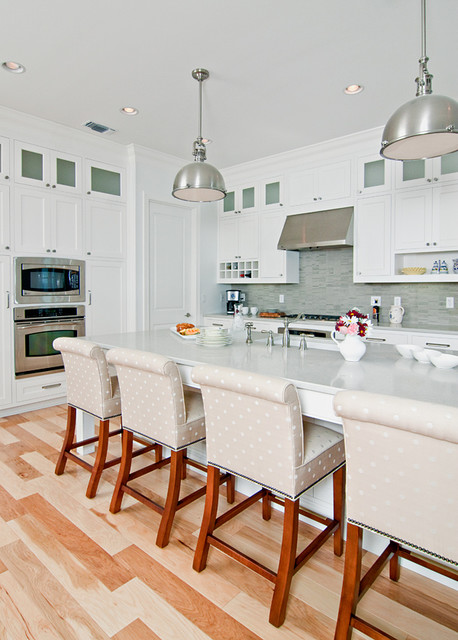Ordinaire White Beach Kitchen Eclectic Kitchen