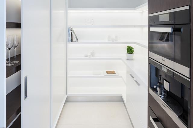 White Boxes Contemporary Kitchen Sunshine Coast By