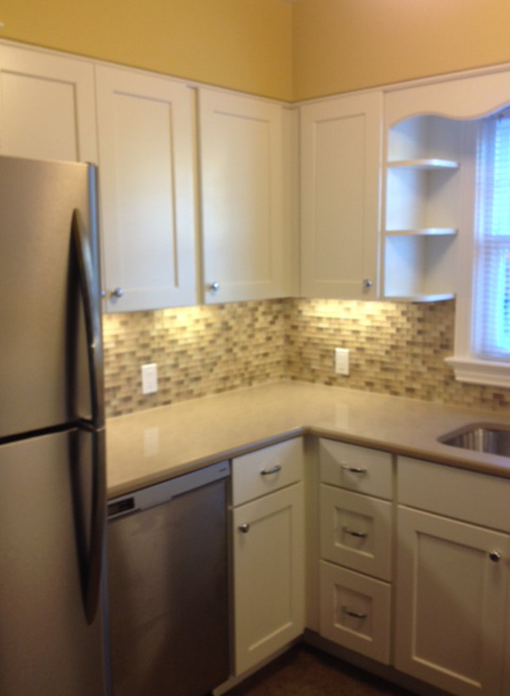 White Cabinets - Traditional - Kitchen - Portland - by ...