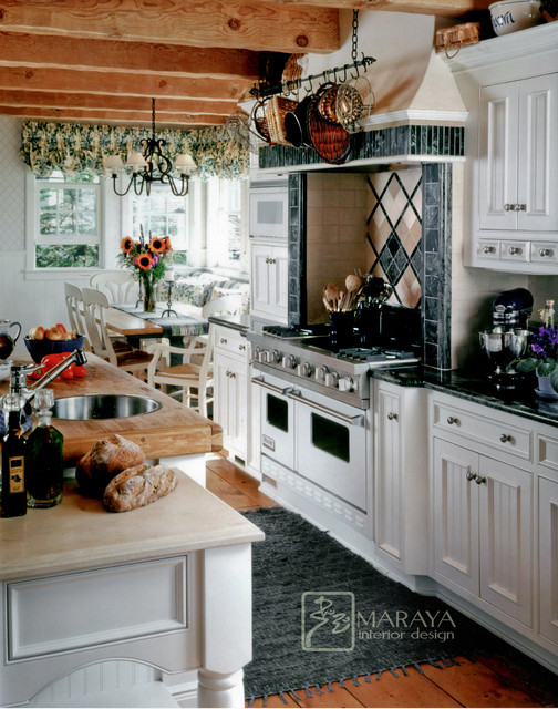 white cape cod kitchen traditional kitchen santa