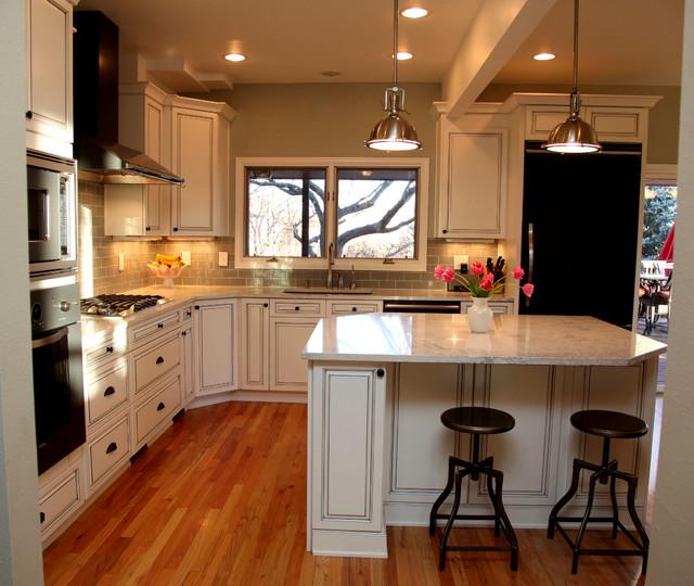 Bathroom Countertops Denver: White Classic Kitchen Design
