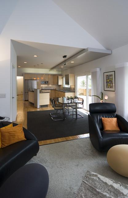White Contemporary contemporary-kitchen