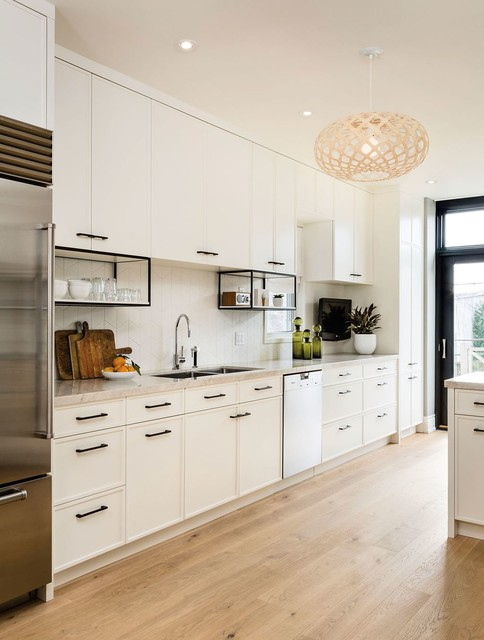 White Contemporary Kitchen By Sub Zero Wolf