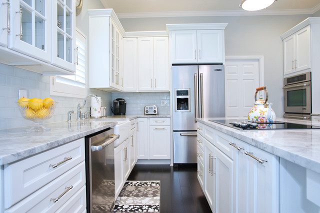 White Kitchen Cabinets » White Kitchen Cabinets With Carrera
