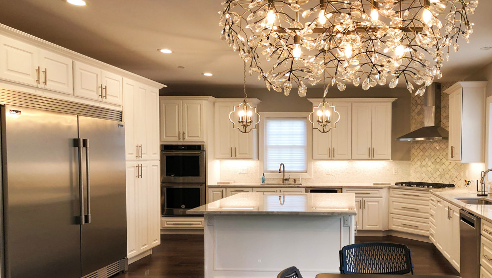 White Delight — New Construction Kosher Kitchen in Pikesville, MD
