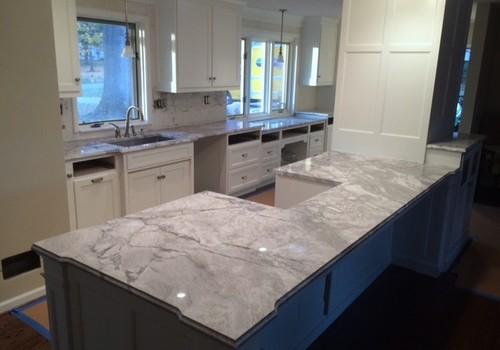 Granite countertops that look like marble