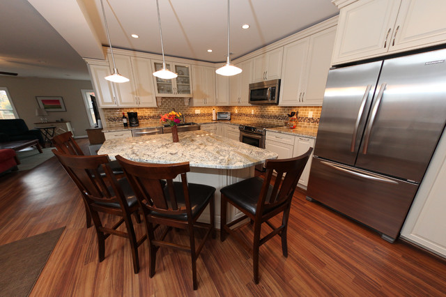 White French Country Kitchen Remodel Annapolis Md Kitchen Dc Metro By Reico Kitchen Bath